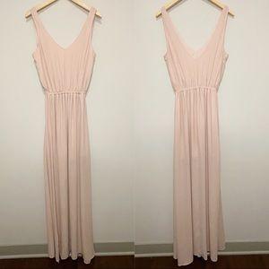 Show Me Your Mumu Kendall Maxi Dress Frosty Pink M